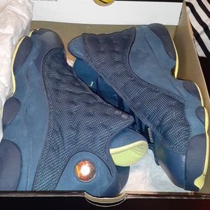 "Air Jordan Retro 13 ""Squadron Blue"" Size 14"